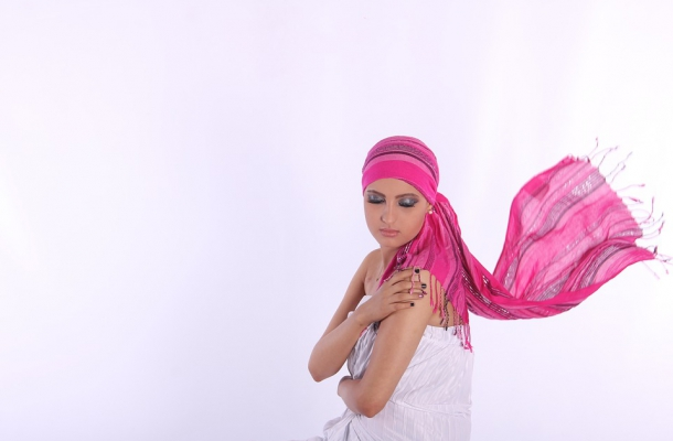 turbante per chemioterapia